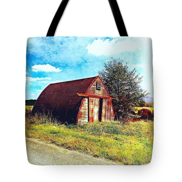 Rusted Shed, Lazy Afternoon Tote Bag