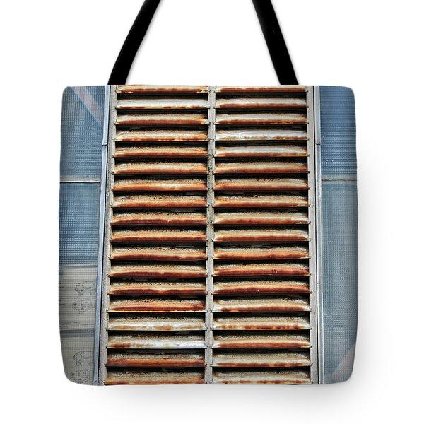 Rusted Shut Tote Bag