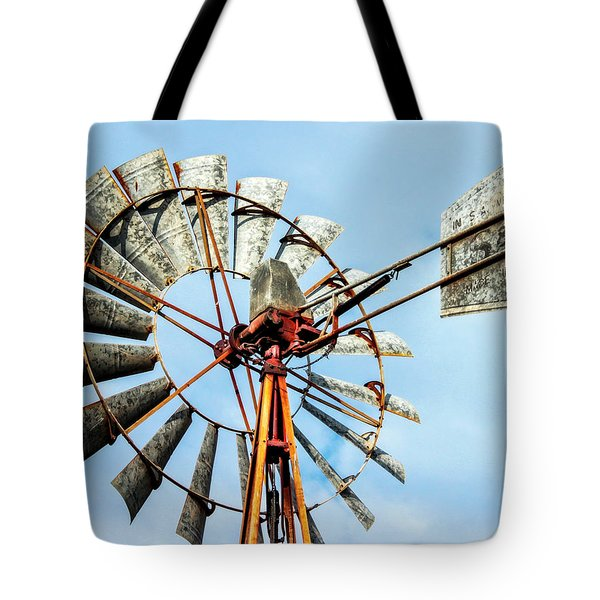 S And L Windmill Tote Bag