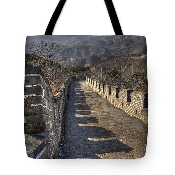 Rusti  Great Wall Hdr Tote Bag