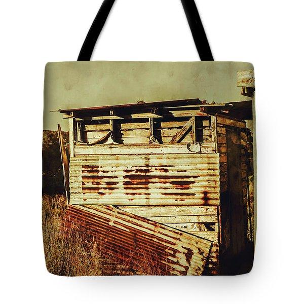 Rustic Abandonment Tote Bag