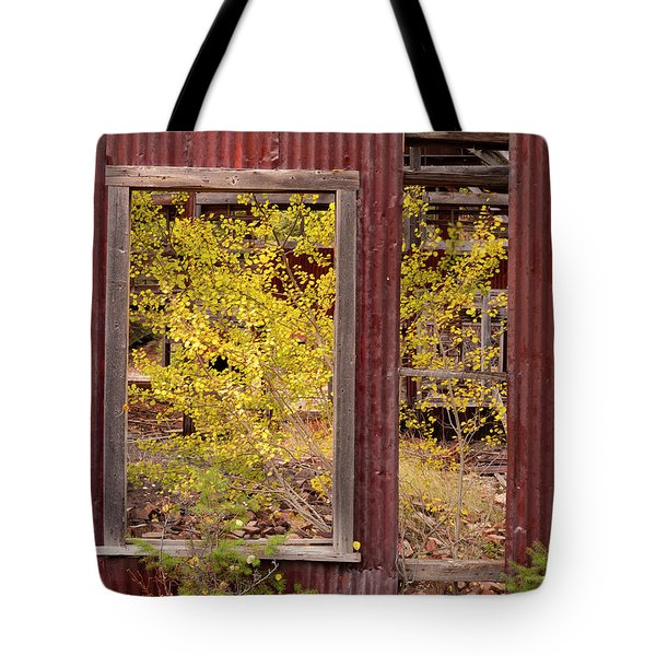 Rustic Autumn Tote Bag by Leland D Howard