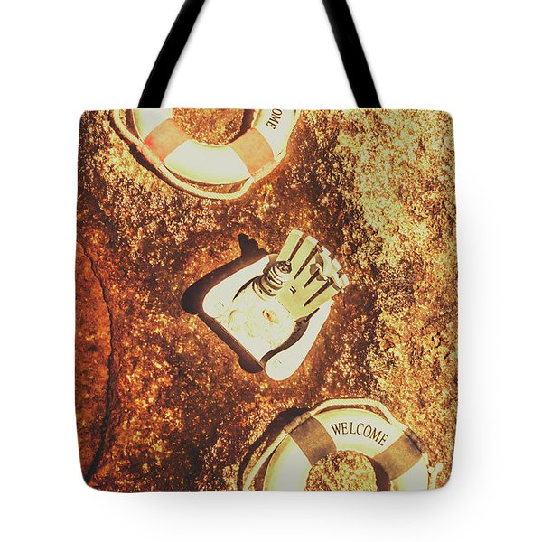 Rustic Beach Decorations  Tote Bag