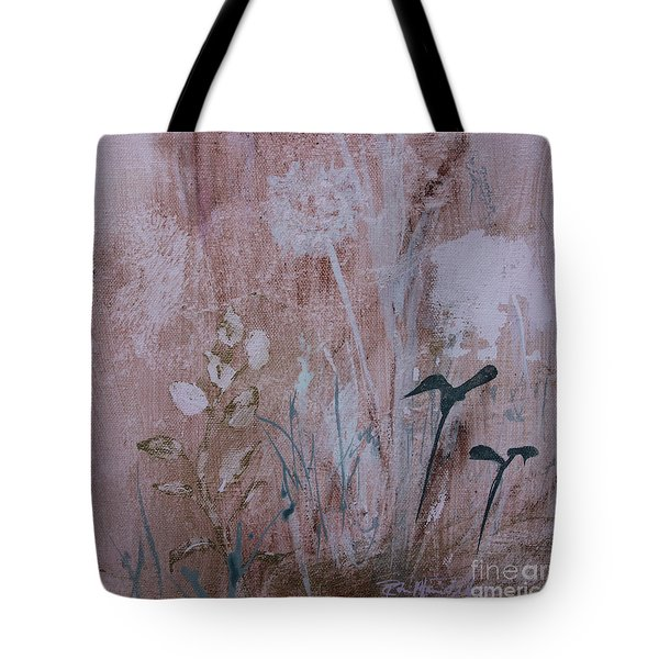 Tote Bag featuring the painting Rustic Breeze by Robin Maria Pedrero