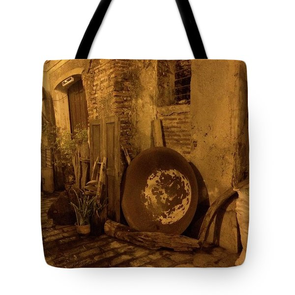 Rustic Buildings Tote Bag