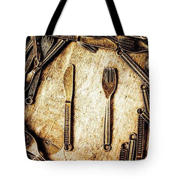 Rustic Catering Tote Bag