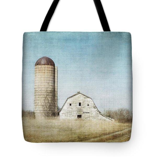Rustic Dairy Barn Tote Bag