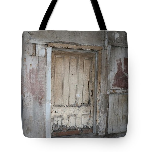 Rustic Doorway  Tote Bag by Christy Pooschke