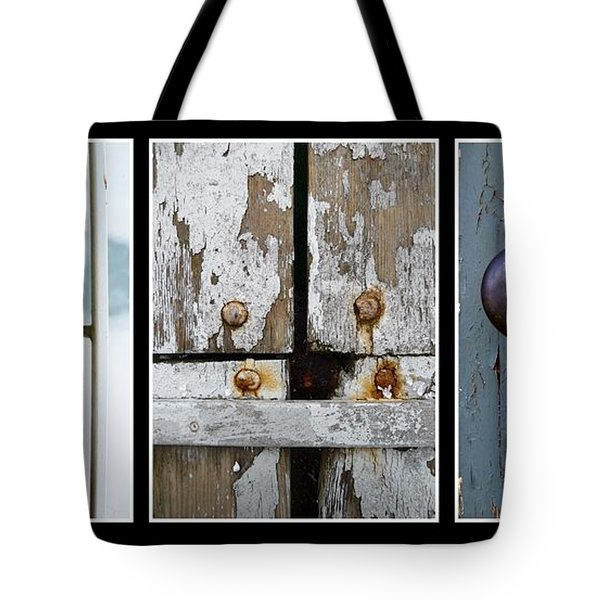 Tote Bag featuring the photograph Rustic Elements by Patricia Strand