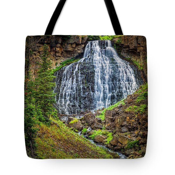 Tote Bag featuring the photograph Rustic Falls  by Rikk Flohr
