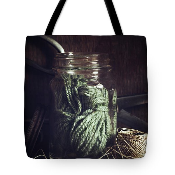 Tote Bag featuring the photograph Rustic Green by Amy Weiss