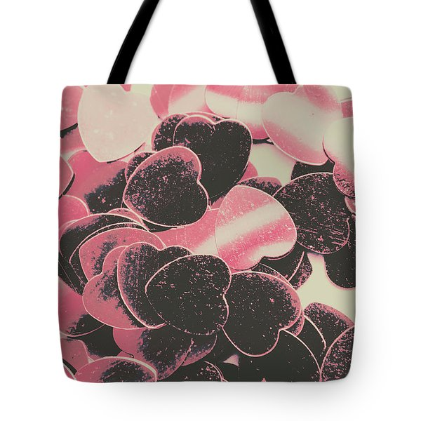 Rustic Heart Decadence Tote Bag