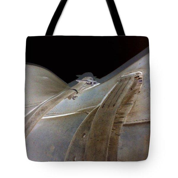 Rustic Horse Saddle Tote Bag