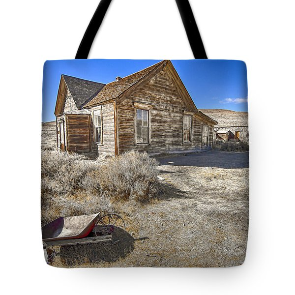 Tote Bag featuring the photograph Rustic House by Jason Abando