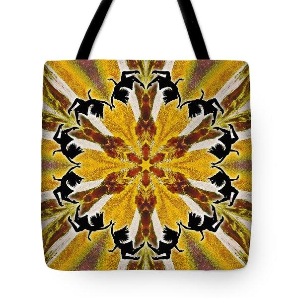 Tote Bag featuring the digital art Rustic Lifespring by Derek Gedney
