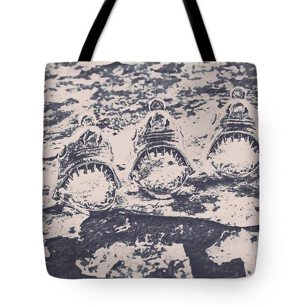 Rustic Nautical Artwork Tote Bag