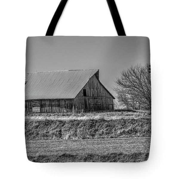 Rustic Rural Iowa Tote Bag