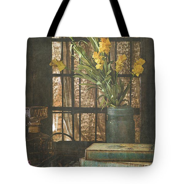 Tote Bag featuring the photograph Rustic Still Life 1 by Teresa Wilson