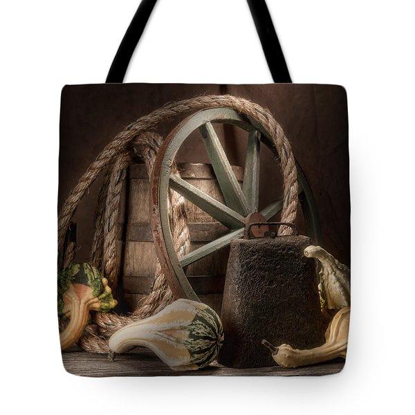 Rustic Still Life Tote Bag by Tom Mc Nemar