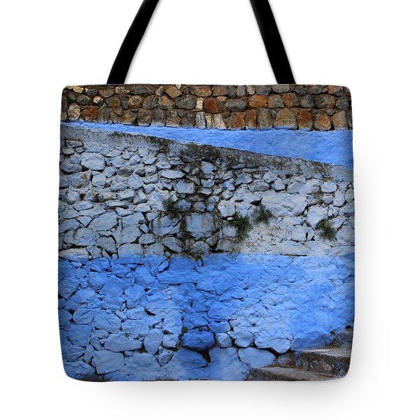 Tote Bag featuring the photograph Rustic Wall by Ramona Johnston