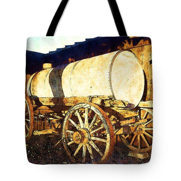 Rustic Warrior Tote Bag