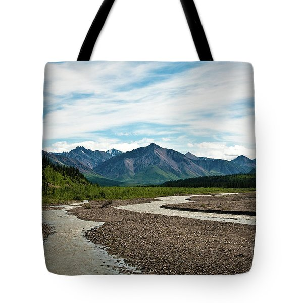 Rustic Water Tote Bag