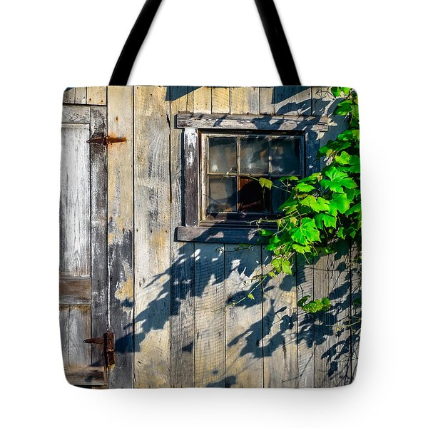 Tote Bag featuring the photograph Rustic Wood 5 by Brian Stevens