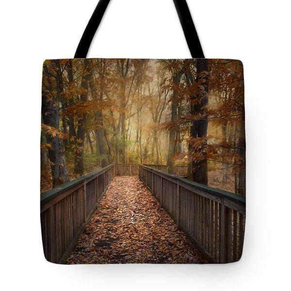 Rustic Woodland Tote Bag