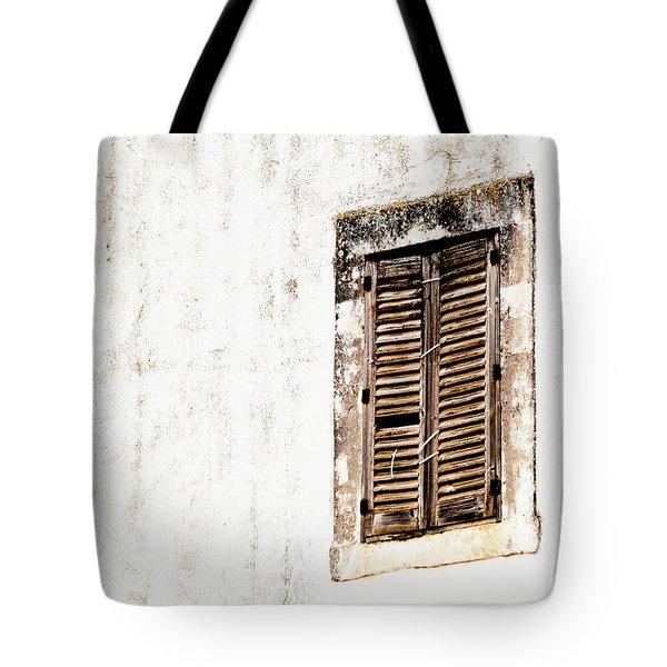 Finestra Rustica Tote Bag