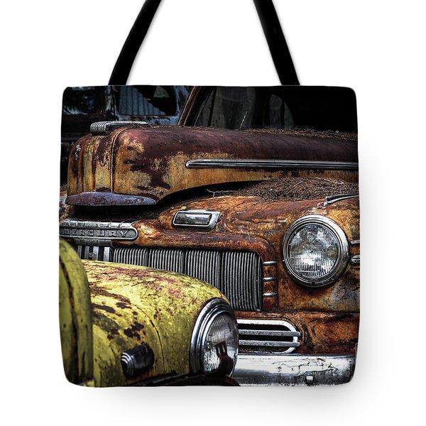Rusting Away ... Tote Bag