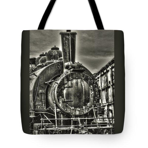 Rusting Locomotive Tote Bag
