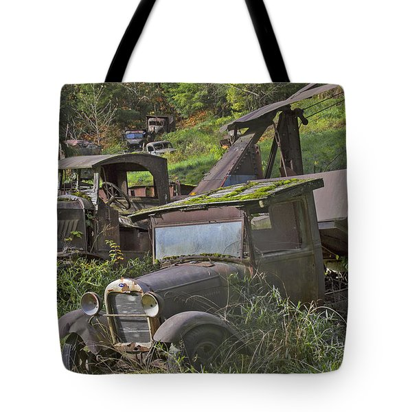 Rusting Out Tote Bag