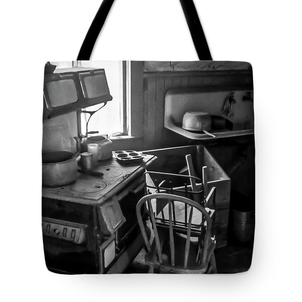 Rusting Pots And Pans, Bodie Ghost Town Tote Bag