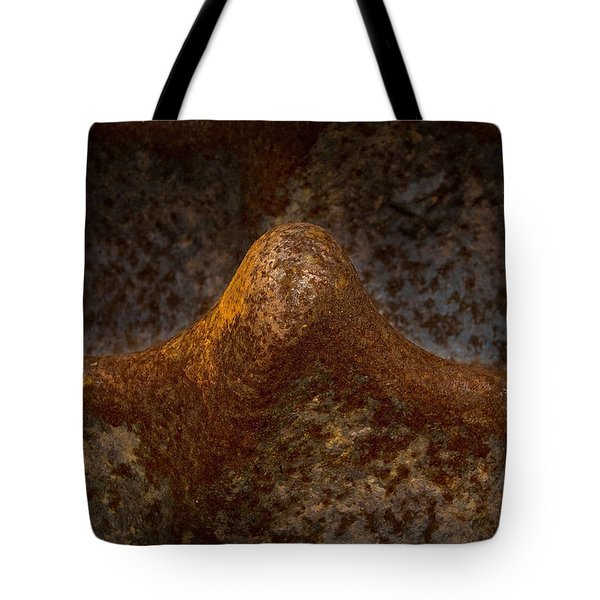 Tote Bag featuring the photograph Rustwave by WB Johnston