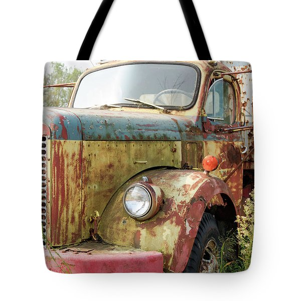 Rusty And Crusty Reo Truck Tote Bag