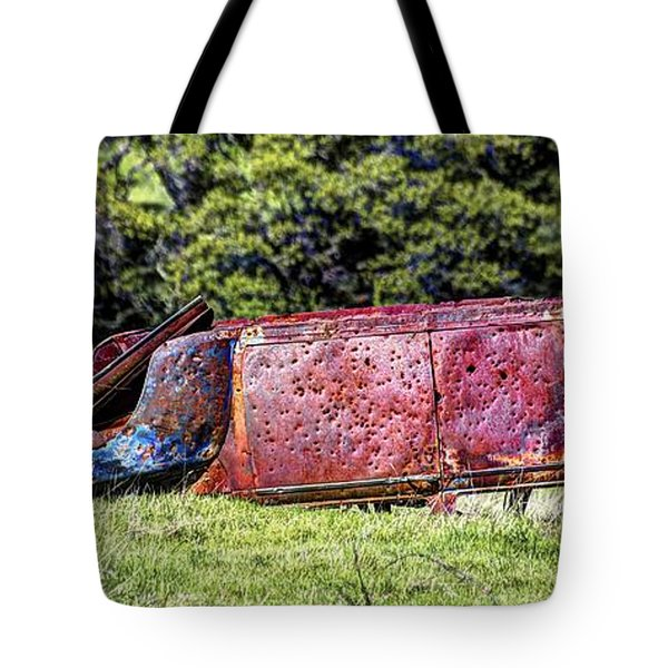 Rusty And Forgotten Tote Bag