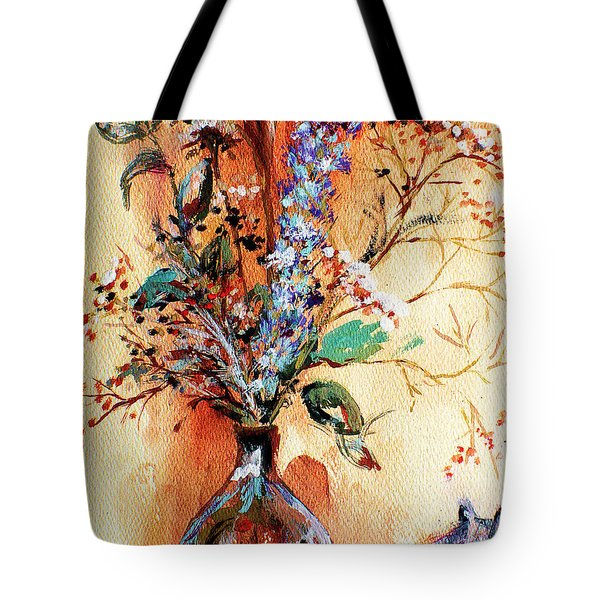 Rusty Arrangement Tote Bag