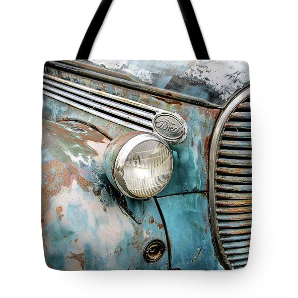 Rusty Blues Tote Bag
