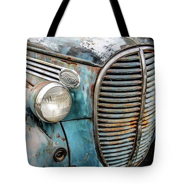 Rusty Blues Tote Bag by David Lawson