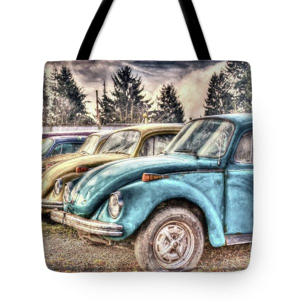 Tote Bag featuring the photograph Rusty Bugs by Jean OKeeffe Macro Abundance Art