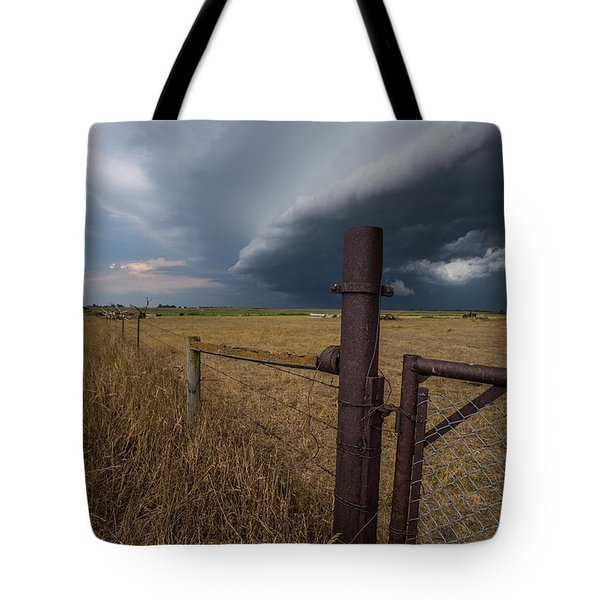 Tote Bag featuring the photograph Rusty Cage  by Aaron J Groen
