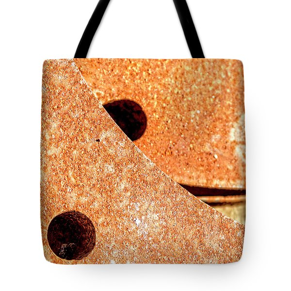 Rusty Circle Tote Bag