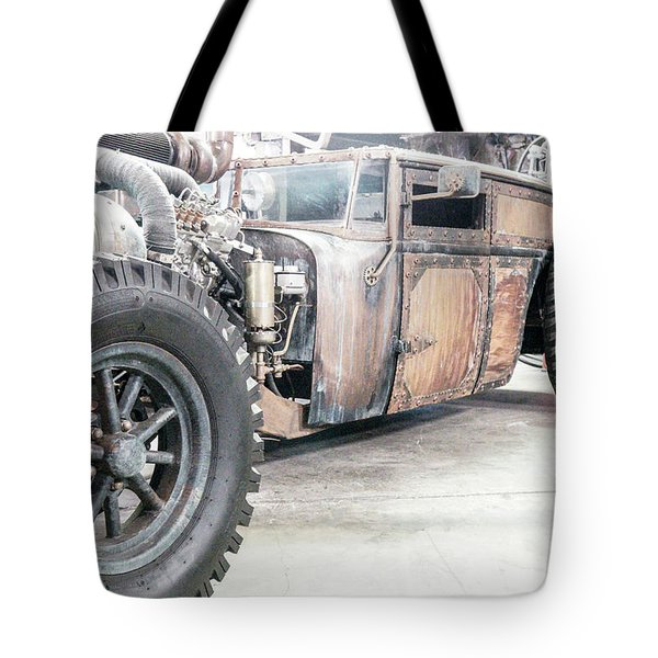 Rusty Crusty With Power Tote Bag