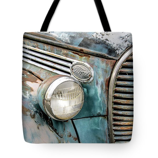 Rusty Ford 85 Truck Tote Bag by David Lawson