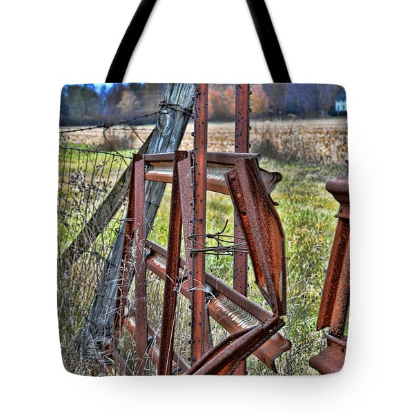 Rusty Gate Tote Bag