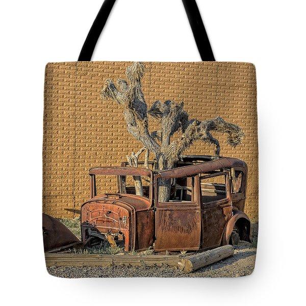 Rusty In The Desert Tote Bag