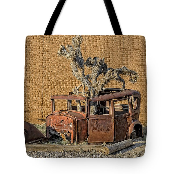 Rusty In The Desert Tote Bag