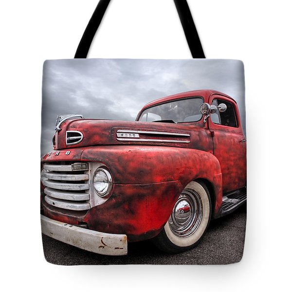 Rusty Jewel - 1948 Ford Tote Bag