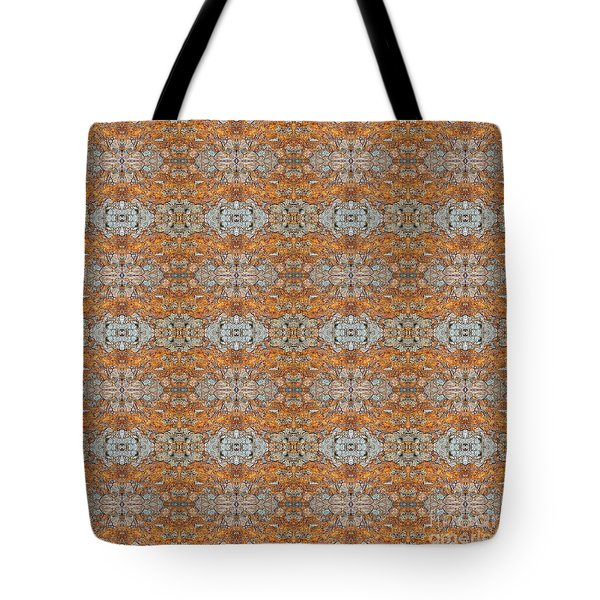 Rusty Lace Tote Bag