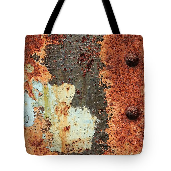 Rusty Layers Tote Bag